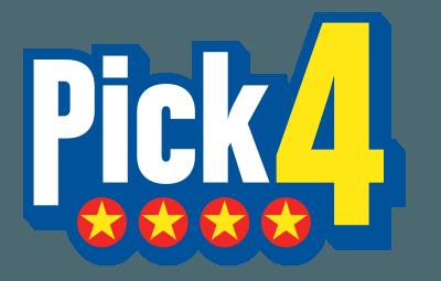 PICK 4 logo